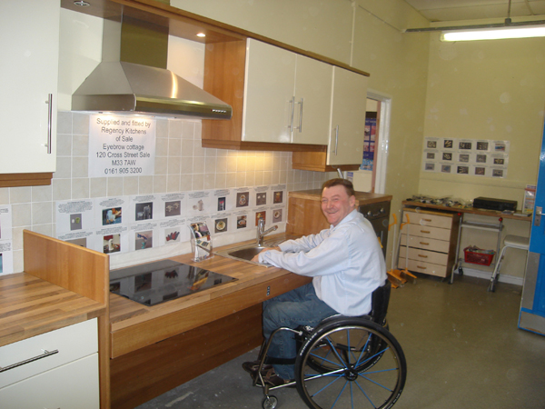 Disabled Kitchen Design The Disabled Kitchen Design Means Greater Freedom  In The Disabled
